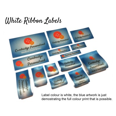 Custom Fabric Labels - Existing Design (repeat order)