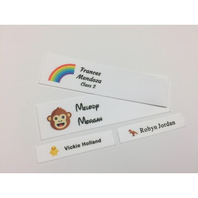 Animals & Nature Motifs Collection Name Labels