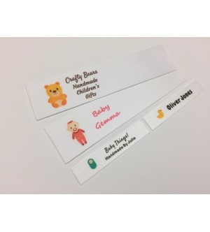 Baby Motifs Collection Name Labels