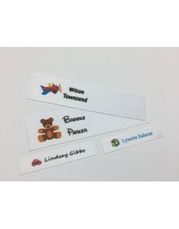 Children's Toys 2 Motifs Collection Name Labels