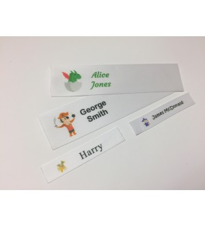 Fantastic Character Motifs Collection Name Labels