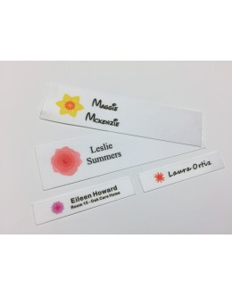 Flower Motifs Collection Name Labels