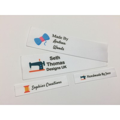 Sewing, Crafts and DIY Motifs Collection Name Labels