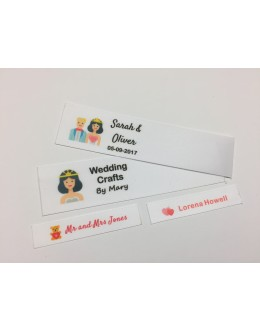 Wedding Motifs Collection Name Labels