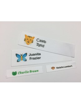 Wildlife Motifs Collection Name Labels