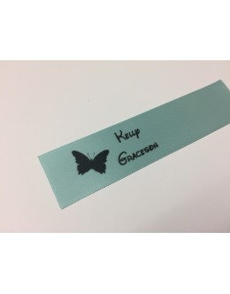 10mm & 25mm Angel Blue Name Labels