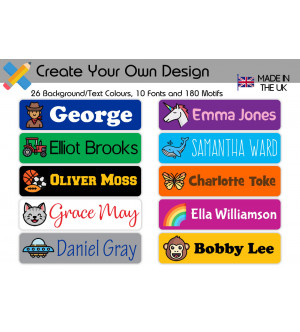 Name Stickers (all sizes)